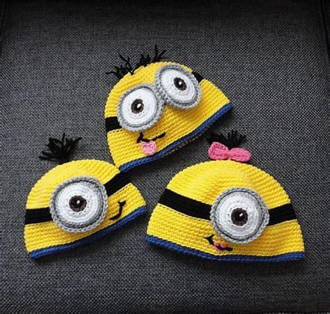 pattern crochet minion hat minion crochet hat pattern