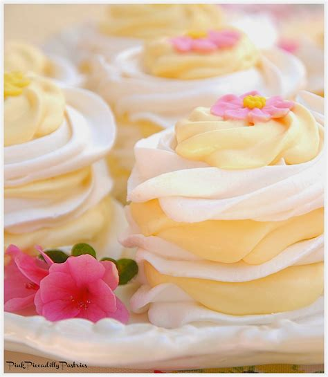 desserts spring pink piccadilly pastries lemon meringue stacks an easy