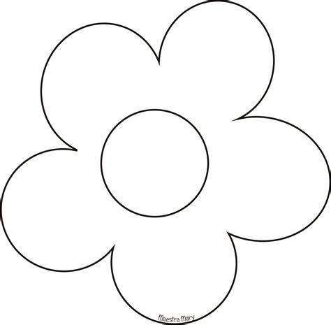 sagoma fiore sagome e disegni di pasqua maestra