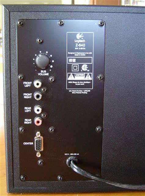 techware labs reviews logitech   computer speakers
