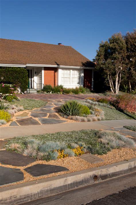 Pictures Of Desert Landscape Front Yards - lawn alternative contemporary landscape los angeles by gregory davis amp associates