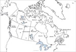 map of canada in with capitals geography blank map of canada