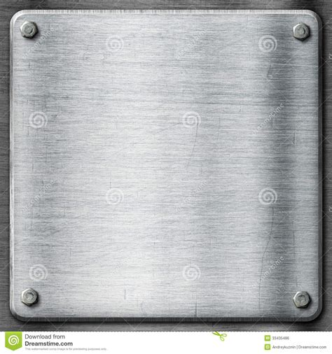 Metal Texture Template Background Steel Plate Stock Photo Image 33435486 Metal Template