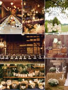 country wedding ideas top 8 trending wedding theme ideas 2014