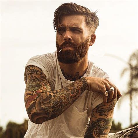 red beard tattoo levi stocke beard beards bearded mens