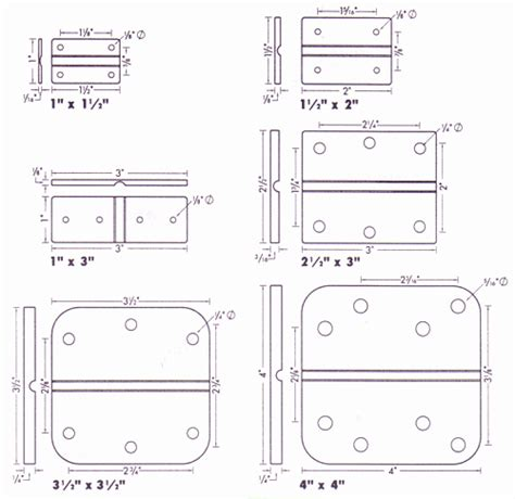 are door hinge locations standard are get free image