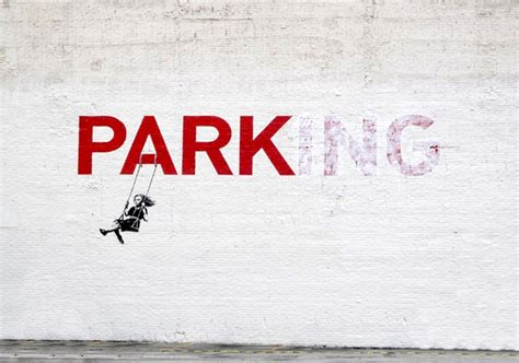Banksy Girl Park Swing Wall B259 Buy Banksy Girl Park