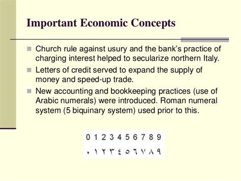 Renaissance Letter Of Credit the renaissance an introduction