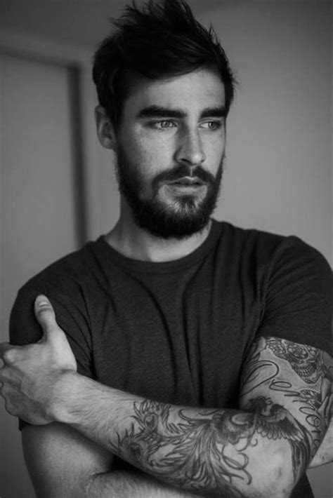 tattoos for hairy men 17 best images about tats and beards on flower