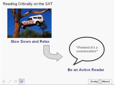 tips for reading section of sat sat critical reading passages lesson 1 from studywheel com