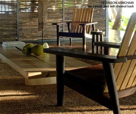 Christian Herisson Estran Outdoor Series Detail Furniter Christian Liaigre Outdoor Furniture
