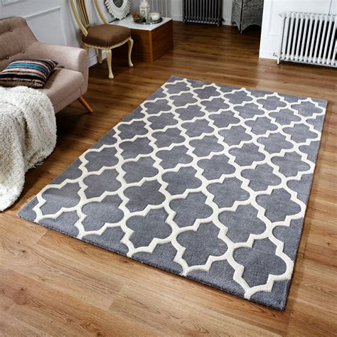 Teppich 120 X 80 by Weavers Arabesque Rug In Grey Next Day Delivery