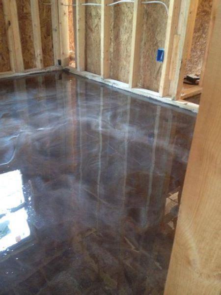 stained concrete contractor, lafayette, la Decorative