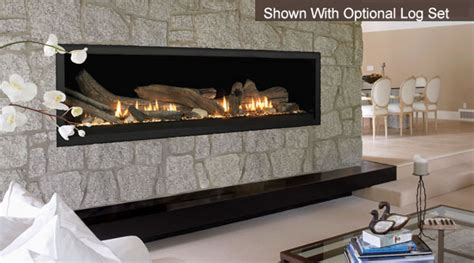 aura wide view 70 inch fireplace by majestic with