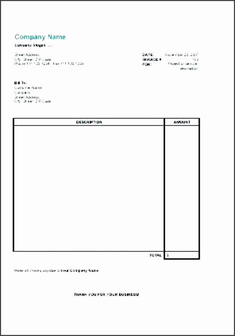 5 Invoice Template For Self Employed Sletemplatess Sletemplatess Self Employed Invoice Template