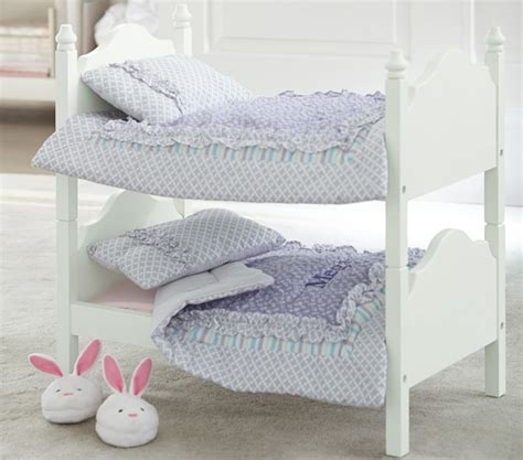 bunk bed quilts doll bunk bed bedding pottery barn kids