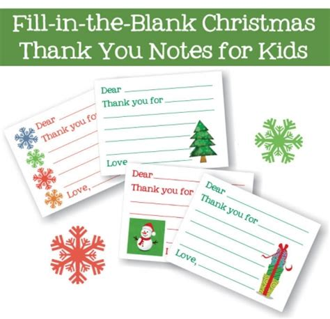 fill in the blank thank you card template free printables roundup for 2016