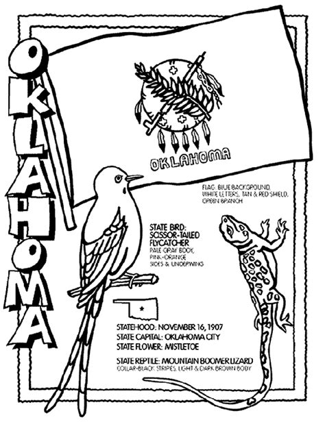 okc coloring pages oklahoma coloring page crayola com
