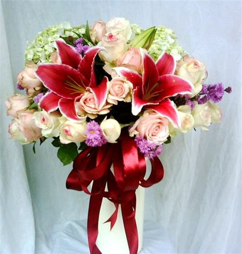 Bouquet Buket Fresh Flowers Kado Hadiah Rangkaian Bunga 9 bunga ulang tahun toko bunga di jakarta barat florist