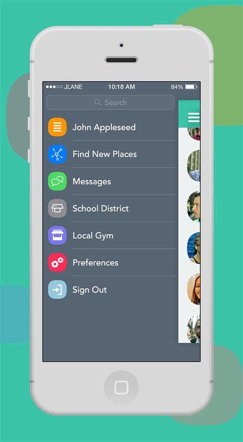 design menu app 20 best slide ui images on pinterest apartment design