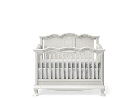 solid back panel convertible cribs cleopatra solid panel convertible crib by romina furniture