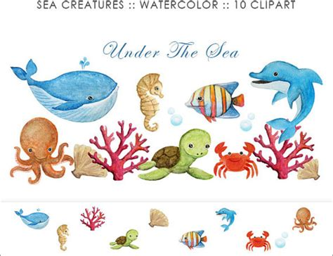 templates for under the sea creatures 5 sea animal templates free printable crafts