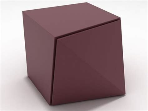 Origami Storage - origami storage unit 3d model reflex angelo