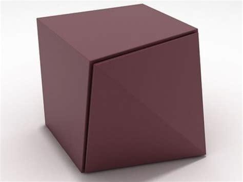 origami storage origami storage unit 3d model reflex angelo