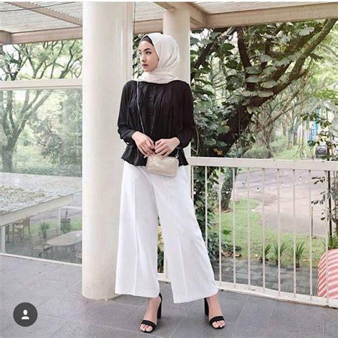 Fashion Terbaru Muslimah fashion remaja terbaru 2018 gaya masa kini teman cantik