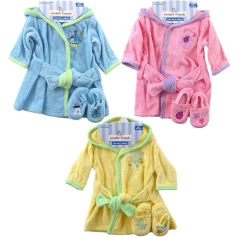 toddler bathrobe and slippers luvable friends baby clothes robe and slippers flickr