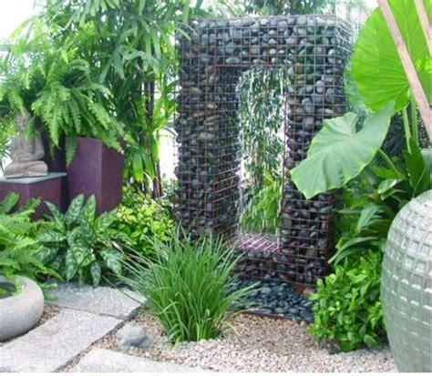 Landscape Rock Yucaipa Gabion Water Feature Garden Water Features