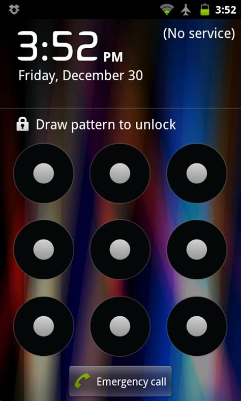 pattern lock screen for android how to reset your android lock screen password droid lessons