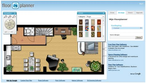 floorplanner demo create and floorplans with floorplanner small house style