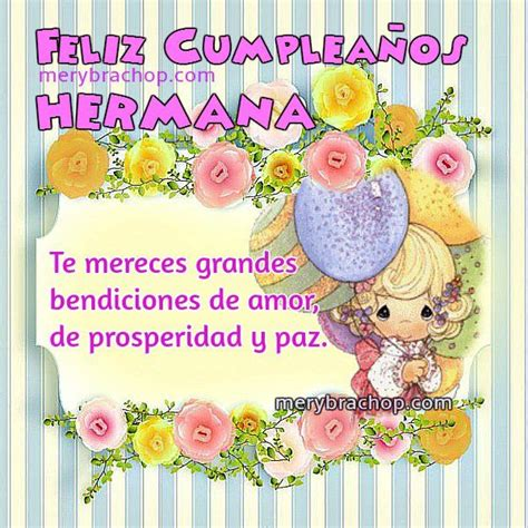 imagenes de happy birthday little brother 41 best tarjetas para una hermana images on pinterest