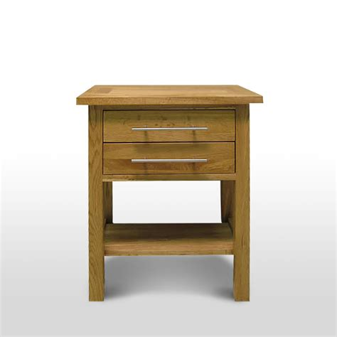 Oak Table With Drawers by 50 Solid Oak L Table With Drawers Delamere