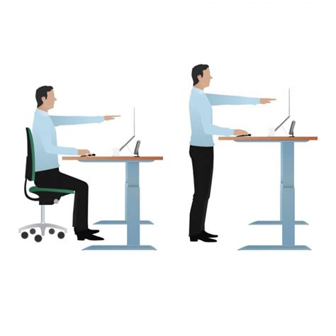 The Health Benefits Of Standing Desks Cos Fast Facts Health Benefits Standing Desk