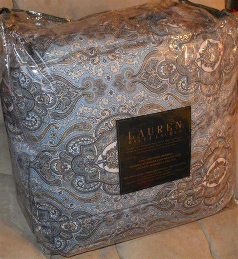 ralph lauren paisley comforter set ralph lauren colchester mist paisley king or queen