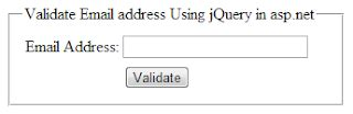 email format validation in asp net jquery to validate email address using regularexpression