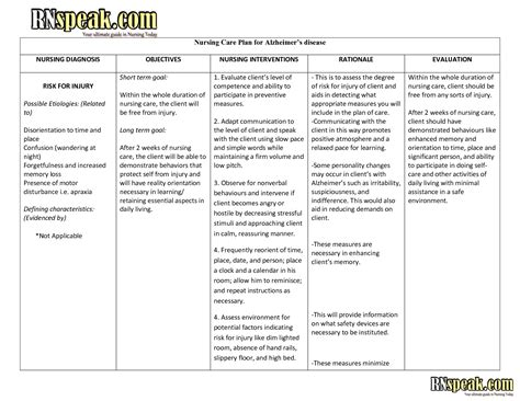 care plan template for dementia best photos of dementia care plan template nursing care