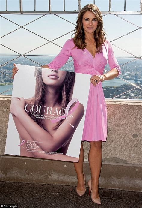 Which Elizabeth Hurley Breast Cancer Pink Frock Is Most Fab by Elizabeth Hurley Celebrates The 20th Anniversary Of Estee