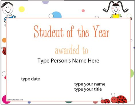 top 5 resources to get free student of the year award