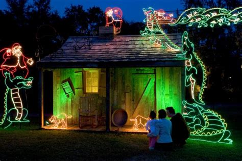 5 best christmas light displays in new orleans 2016