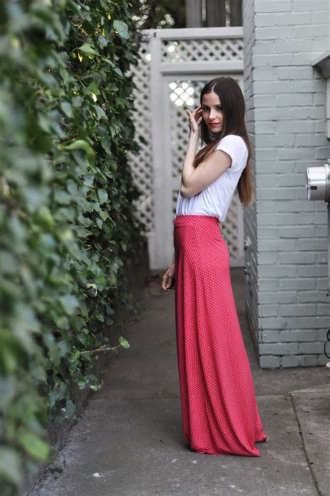 knit a line maxi skirt tutorial