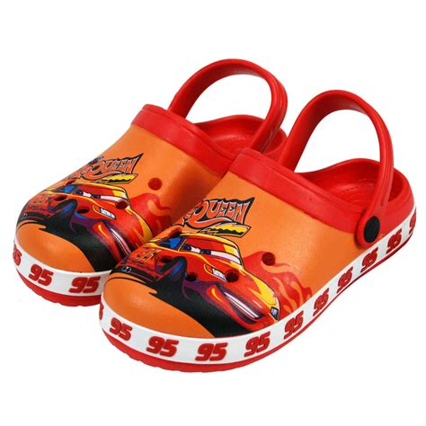 Sandal Anak Cars Clog disney 174 cars official boys sandals clogs shoes uk sizes 18mths to 9yrs ebay
