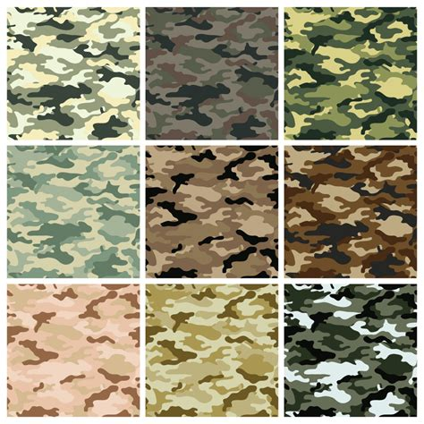 military pattern name camouflage seamless background vector dragonartz designs