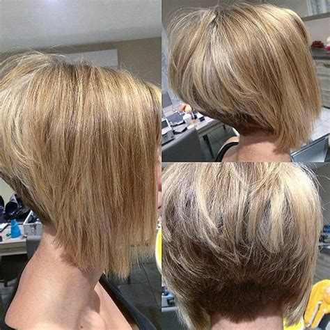 asymetrical ans stacked hairstyles 71 best alines inverted bobs asymmetrical bobs images on