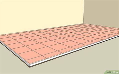 piastrellare pavimento 4 modi per piastrellare un pavimento in ceramica o porcellana