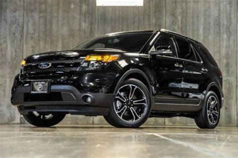 2014 Ford Explorer Msrp by Buy Used 2014 Ford Explorer Sport 4wd Loaded Navigation