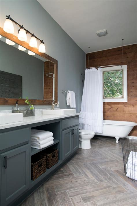 fixer upper bathroom  afters house  hargrove