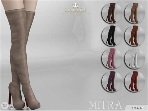 sims 4 shoes the sims resource madlen mitra boots by mj95 at tsr 187 sims 4 updates